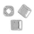 Cubes Toho 4 mm TC-04-711 - Nickel Plated Silver x10g