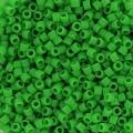 Miyuki Delicas 11/0 DB0754 - Mat Opaque Green x 8g