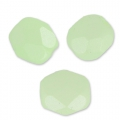 Facettes 4 mm Pastel Green Pearl x50