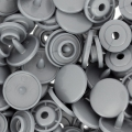 Boutons pressions KAM ronds 12,4 mm Gris x20