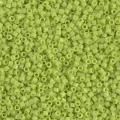 Miyuki Delicas 11/0 DB0733 - Opaque Chartreuse x 8g