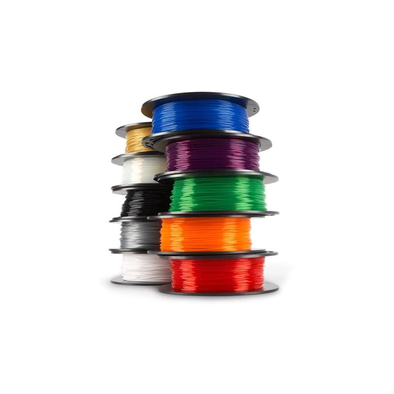 Filament pla pour imprimante dremel 3d idea builder translucide x1 perles co - Filament imprimante 3d ...