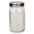 Bocal Mason Jar Ball 32 oz Wide Mouth x1