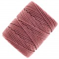 Fil C-LON Tex 400 Bead Cord 0,90 mm Copper Rose x 35 m
