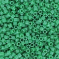 Miyuki Delicas 11/0 DB0655 - Dyed Opaque Kelly Green x8g