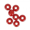 Rocailles 4 mm Red Coral x20g