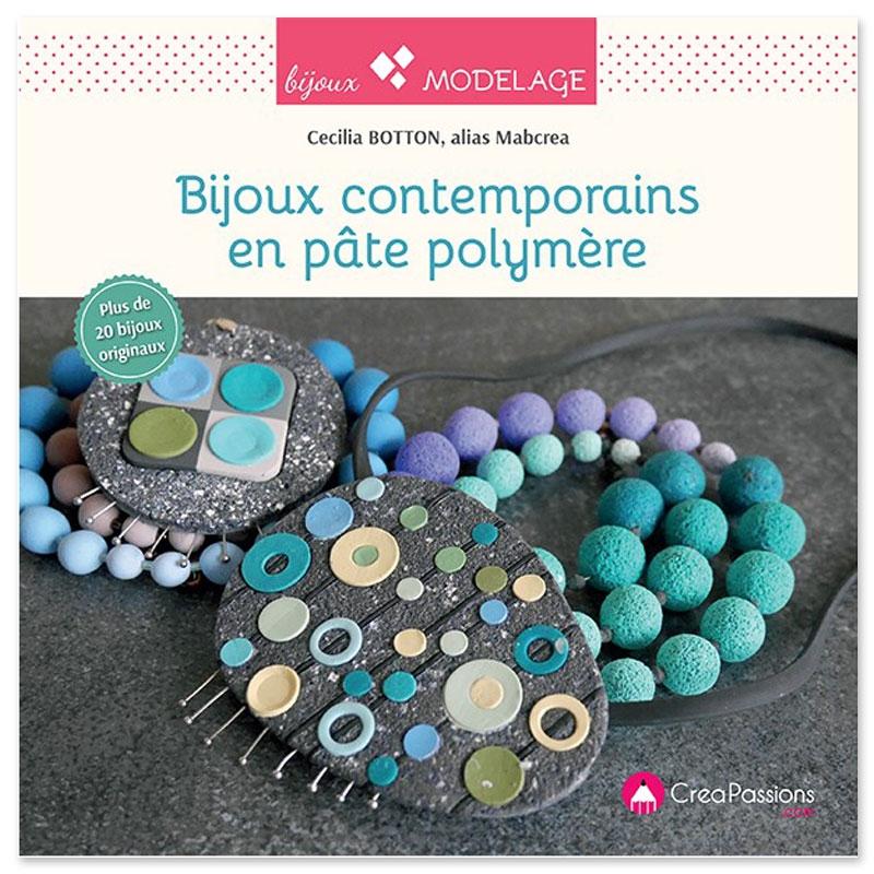 bijoux contemporains en pate polymere