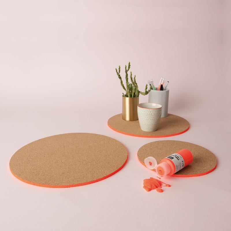 plaques rondes de li ge 10 cm naturel x4 rico design perles co. Black Bedroom Furniture Sets. Home Design Ideas