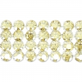 Swarovski Crystal Mesh 40001 4 rangs 11 mm Crystal Golden Shadow x5cm