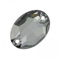 Cabochon 3210 16x11 mm Crystal Silver Night x1