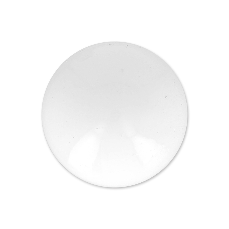 boule pour bola de grossesse 16 mm blanc x1 perles co. Black Bedroom Furniture Sets. Home Design Ideas