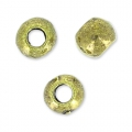 Perles rondes 3.2 mm bronze x15