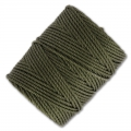 Fil C-LON Tex 400 Bead Cord 0,90 mm Green Olive x 35 m