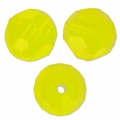 Ronde Swarovski 5000 8 mm Yellow Opal x1