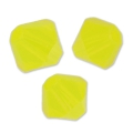 Toupies en cristal Swarovski 3 mm Yellow Opal x50