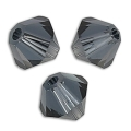 Toupies Swarovski 3 mm Graphite x50