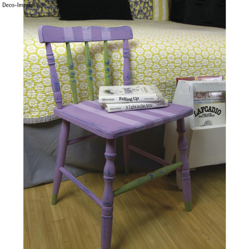 peinture craie chalky finish vert menthe n 408 x118ml perles co. Black Bedroom Furniture Sets. Home Design Ideas