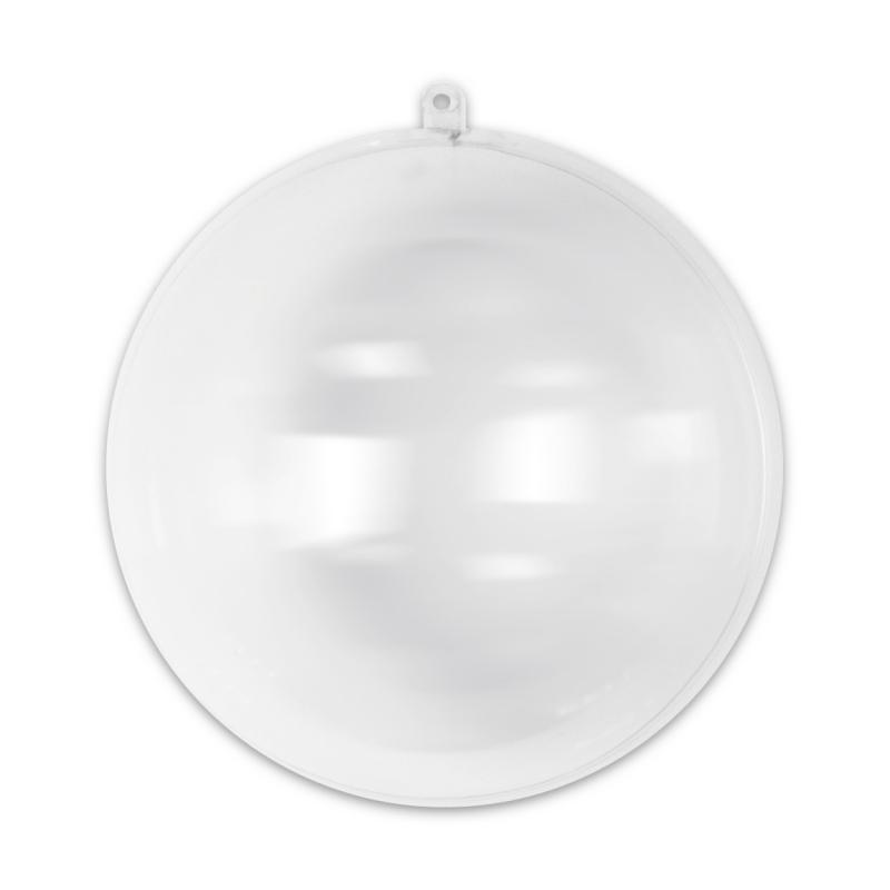Boule de no l transparente garnir 160 mm x1 perles co - Boule de noel en anglais ...