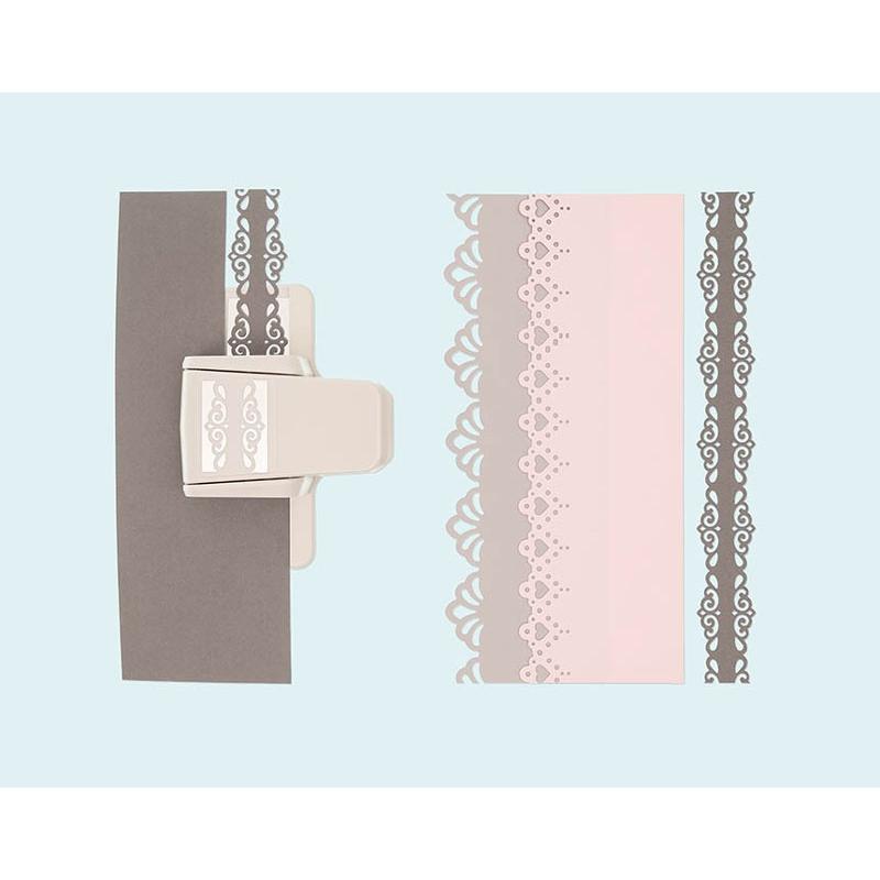 perforatrice grande bordure paper poetry 53x38 mm dentelle. Black Bedroom Furniture Sets. Home Design Ideas