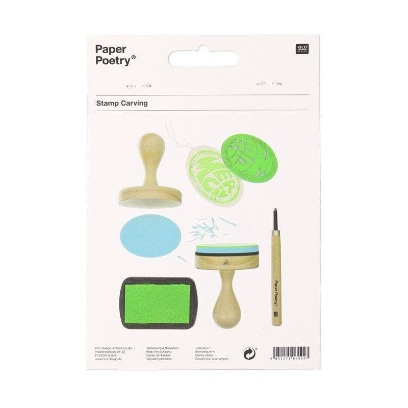 poign e bois pour tampon faire soi m me paper poetry ovale p perles co. Black Bedroom Furniture Sets. Home Design Ideas