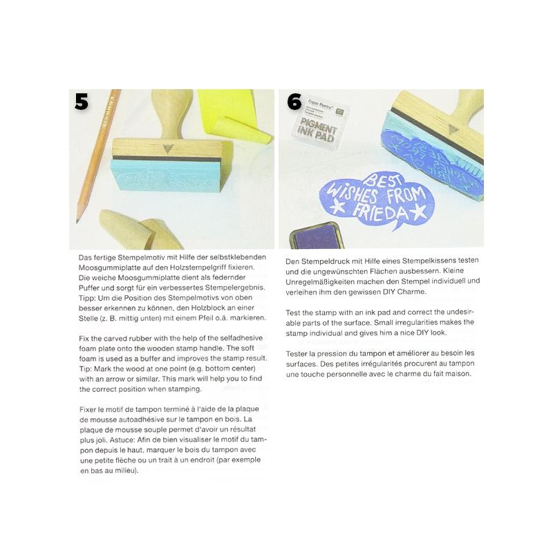 poign e bois pour tampon faire soi m me paper poetry ovale perles co. Black Bedroom Furniture Sets. Home Design Ideas
