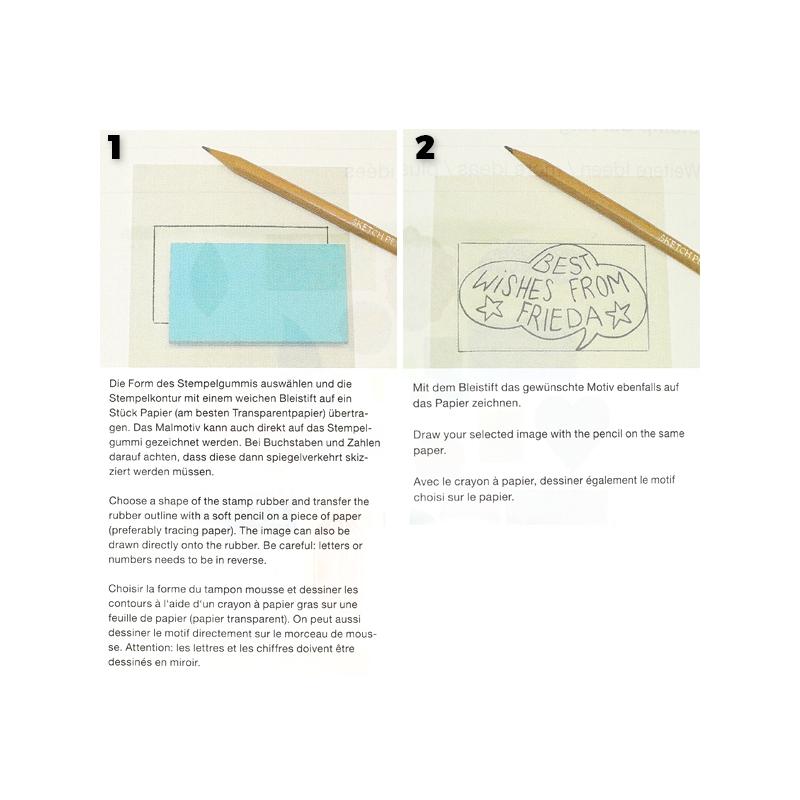 supports en bois pour tampon faire soi m me paper poetry carr perles co. Black Bedroom Furniture Sets. Home Design Ideas