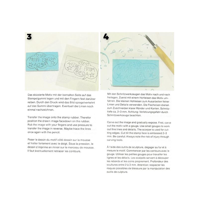 caoutchouc pour tampon faire soi m me paper poetry carr x3 perles co. Black Bedroom Furniture Sets. Home Design Ideas