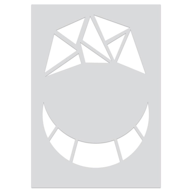 Gabarit Pour P 226 Te Polym 232 Re 210x148 Mm Motifs Mosa 239 Que