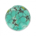 Cabochon rond 12 mm Turquoise