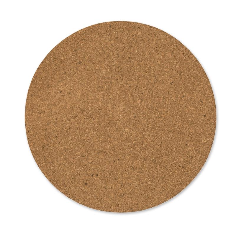 Plaques rondes de li ge 20 cm naturel x2 rico design perles co - Plaque de liege deco ...