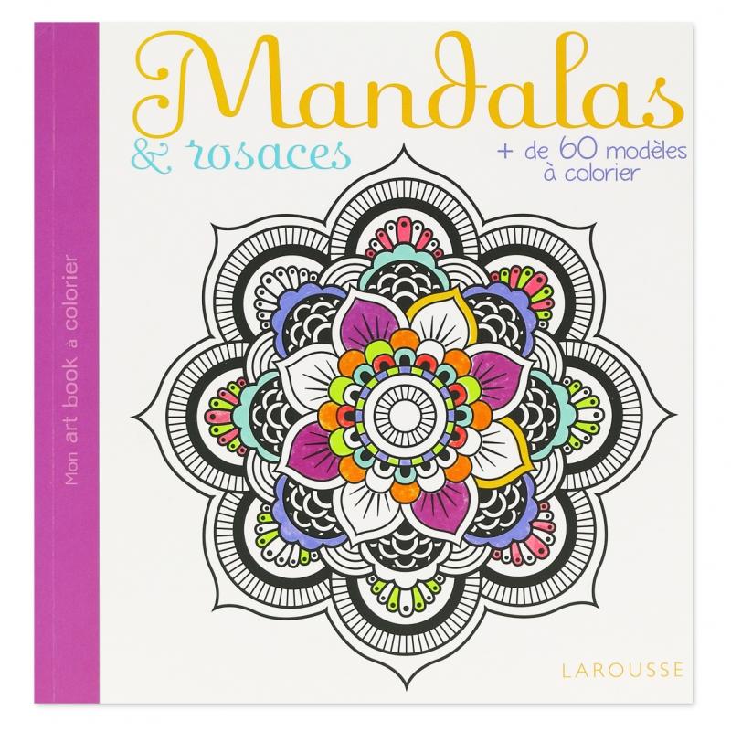 Mandalas et rosaces plus de 60 mod les colorier - Modele de mandala ...