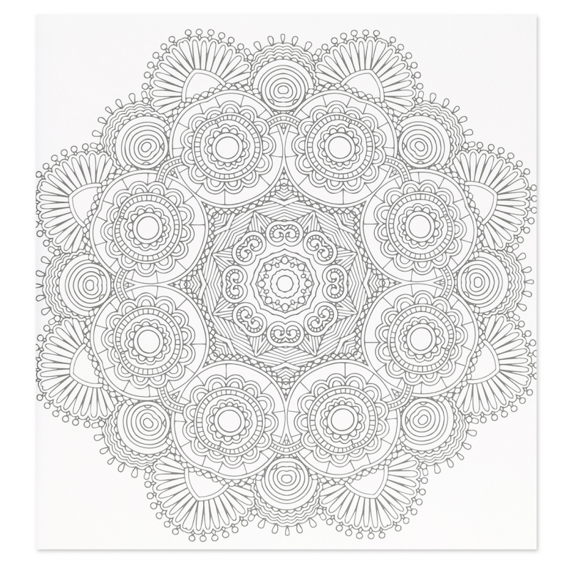 Mandalas et rosaces plus de 60 mod les colorier perles co - Rosaces a colorier ...