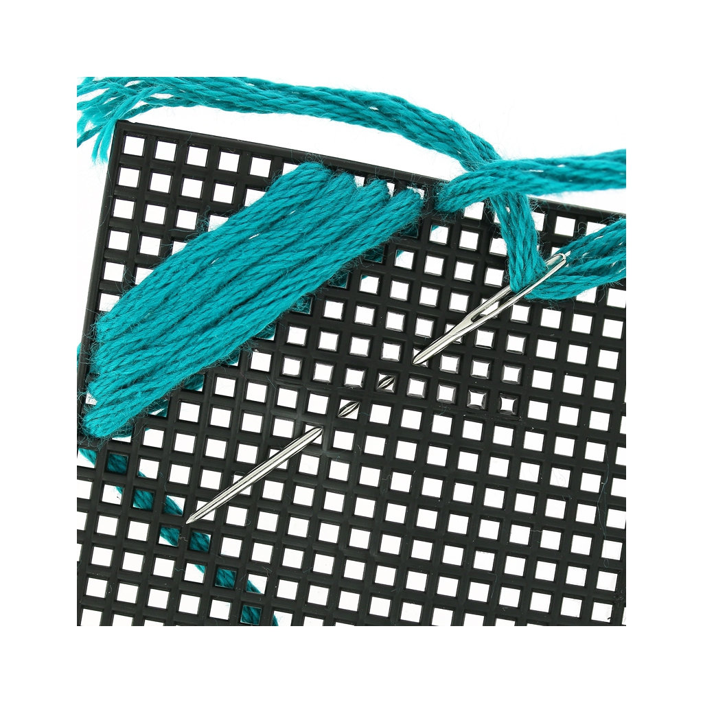Feuille toile canevas plastique broder et d couper cm perles co - Toile antiderapante pour tapis ...