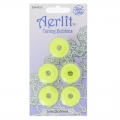 Assortiment de 5 Aerlit Tatting Bobbins Lime