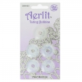 Assortiment de 5 Aerlit Tatting Bobbins Pearl