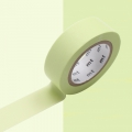 Masking Tape 15 mm Pastel Lime x10m