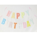 Guirlande à composer  Paper Poetry 14 cm Happy Birthday x1