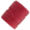 Fil C-LON Tex 400 Bead Cord 0,90 mm Red-Hot x 35 m