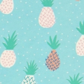 Paper Patch Ananas 42x30 cm Mint x1 feuille