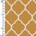 Tissu Heirloom - Lattice in Marigold x10cm