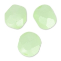 Facettes 6 mm Pastel Green Pearl x25