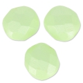 Facettes 8 mm Pastel Green Pearl x20
