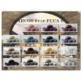 Arcos® par Puca® 5x10 mm Dark Plum Metallic Mat x10g