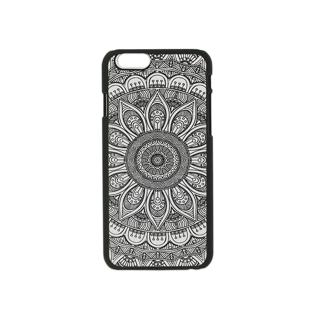 coque rigide customiser pour iphone 6 6s d cor mandalas morion x perles co. Black Bedroom Furniture Sets. Home Design Ideas