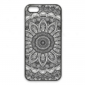 Coque rigide à customiser pour iPhone 5/5S Décor Mandalas Morion x1