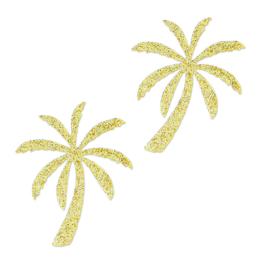 motifs thermocollants miniatures mme mlle 28 mm palmier dor x20 perles co. Black Bedroom Furniture Sets. Home Design Ideas
