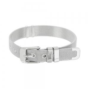 bfca563f552 Bracelet ceinture souple maille réglable 10 mm en Acier inox x1 ...