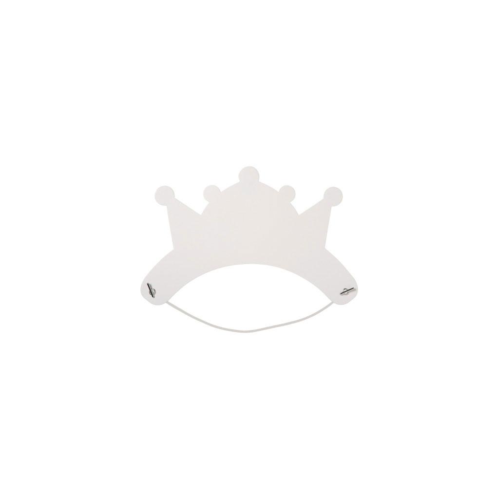 lot de 6 couronnes d corer tiare perles co. Black Bedroom Furniture Sets. Home Design Ideas