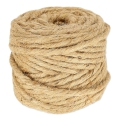 Cordon de jute 6 mm Naturel x 41 m