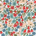 Tissu Liberty - Poppy and Daisy Mint x10cm